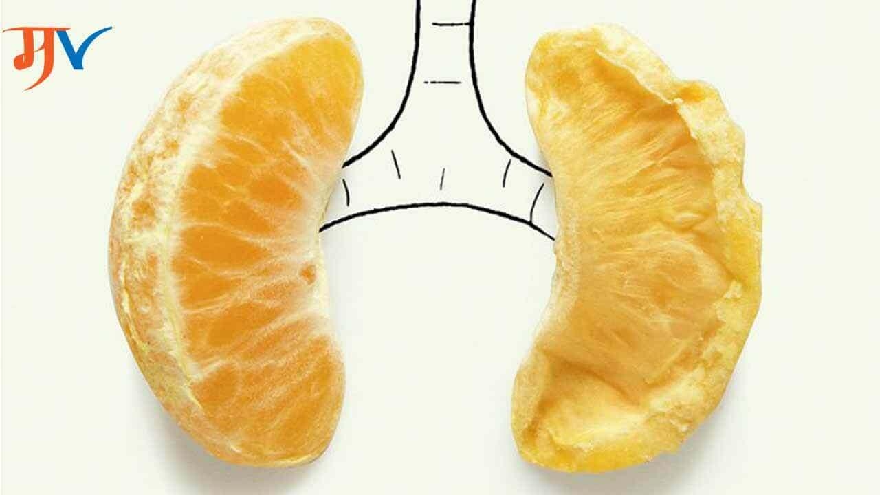Symptoms of Lung Disease in Marathi