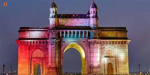 Gate way of India in Marathi