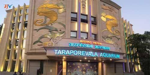 Taraporewala aquarium in marathi