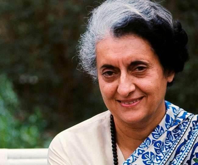 The assassination of Indira Gandhi in Marathi