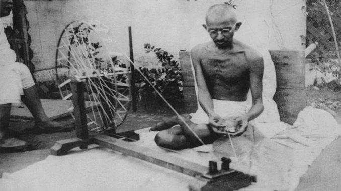 mahatma gandhi biography in marathi