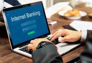 What is net banking in Marathi